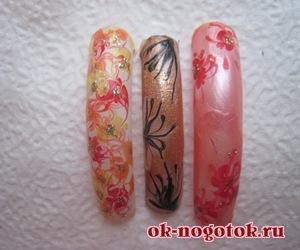 Фото рисунков на ногтях