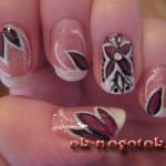 Фото инструкция рисунка на ногтях «В ожидании весны»