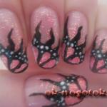 Фотоурок рисунков на ногтях «Крылья бабочки»