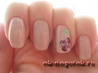 рисунки на ногтях фото розы