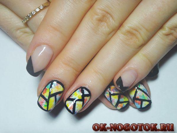 Рисунки на ногтях новые